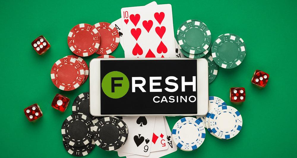 Обзор молодого, но перспективного казино Fresh