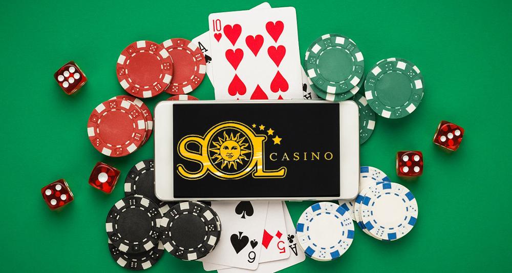 Функциональное casino Sol с VIP-программой и массой игр